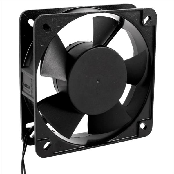 Boîtier Ventilateur Noir AC 220 V 50/60HZ