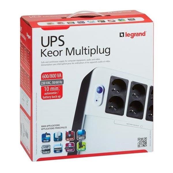 UPS KEOR OFF-LINE MULTIPLUG