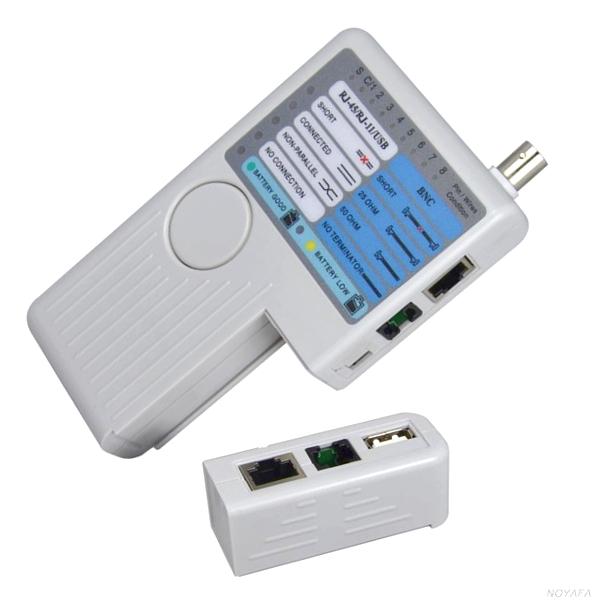 Testeur de cable réseau RJ11/RJ45/USB