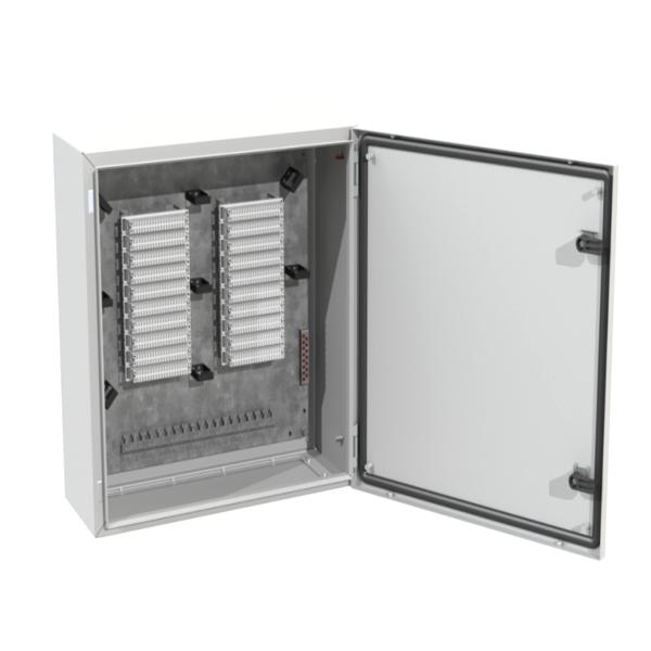 130P INDOOR (OUTDOOR) DISTRIBUTION BOX (METAL EMPTY)