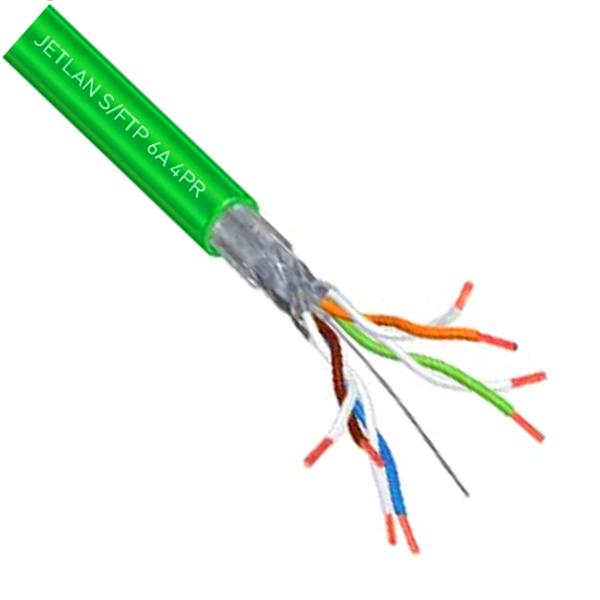 Câble S FTP CAT6A,LSZH Tr.500m, (General Cable)