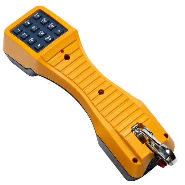Fluke Networks Test Set with Angled bed of Nails Clips