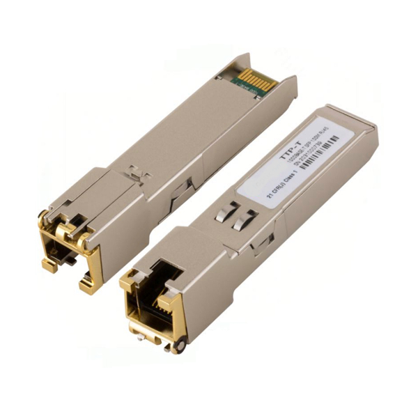 SFP copper RJ45 interface