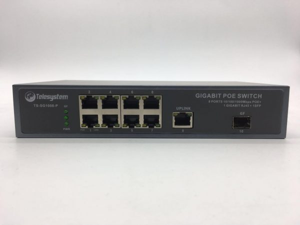 TS-SG1008-P PoE Switch with 8 Gigabit ports+1 SFPTS-SG1008